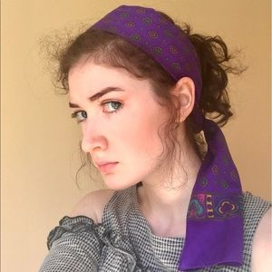Purple Headscarf